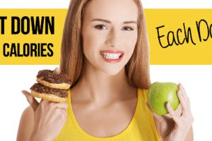 6 Ridiculously Easy Ways To Cut 500 Calories A Day!