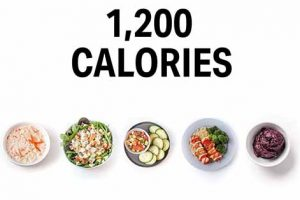 7 Days 1200 Calorie Diet Plans For Weight Loss