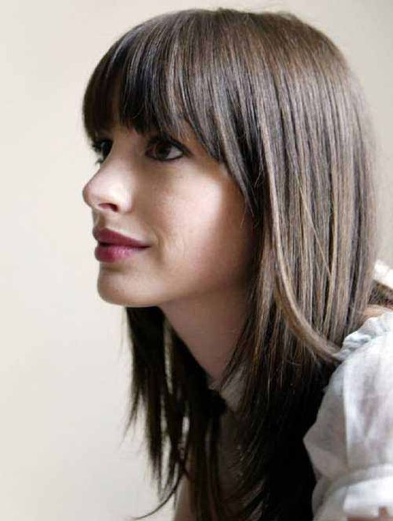 10 Unavoidable Long Bangs Hairstyles and Haircuts for Your Great Attraction