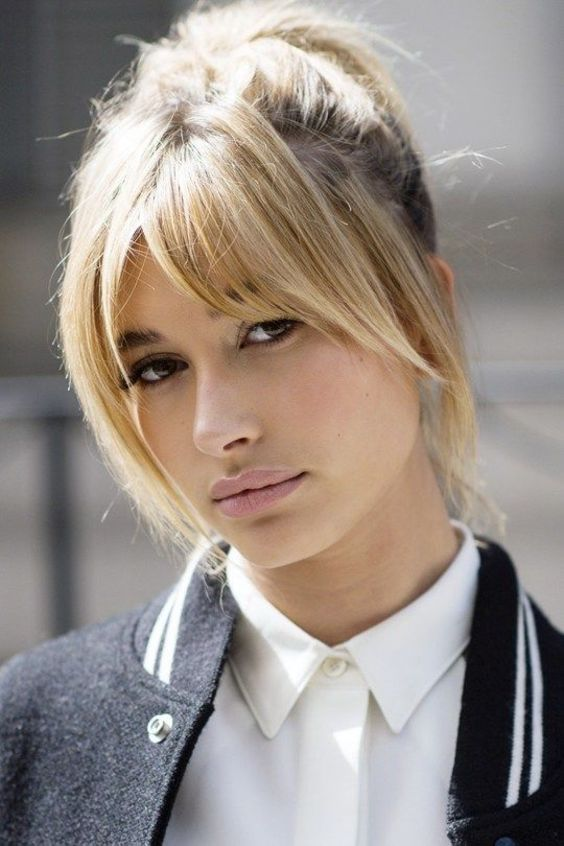 12 Best Long Hairstyles With Fringe that you don't want to miss! (11)