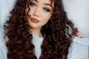 30 Trendy Curly Hairstyles For Long Hair For You Might Give A Try!