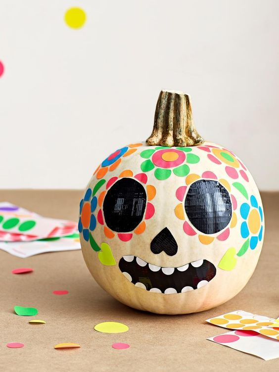 10 Cute and Whimsical Pumpkin Painting Ideas for Kid (21)