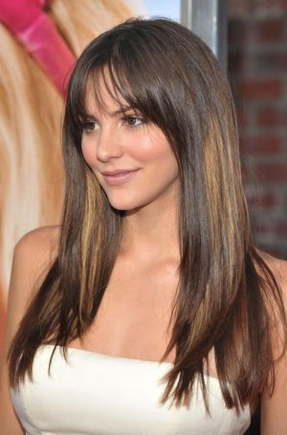 5 Easy Long Bangs Hairstyles for you in 2020 (21)
