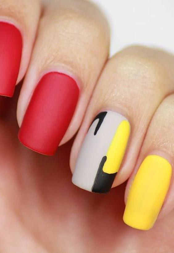19 Amazing Yellow Nail Art Designs Color Combos for 2020 (1)