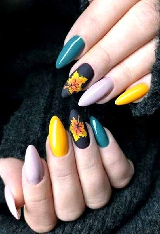19 Amazing Yellow Nail Art Designs Color Combos for 2020