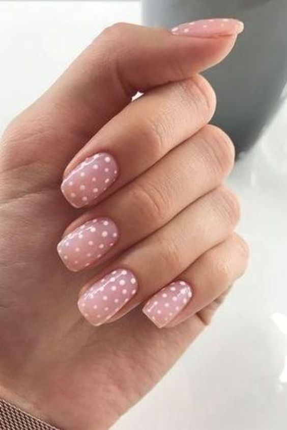 30 Fantastic Polka Dot Nail Art Tutorials for 2020 Have a look!