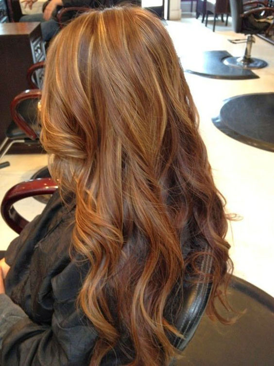 25 Most Enjoyable Fall Hair Colors For Brunettes Out There