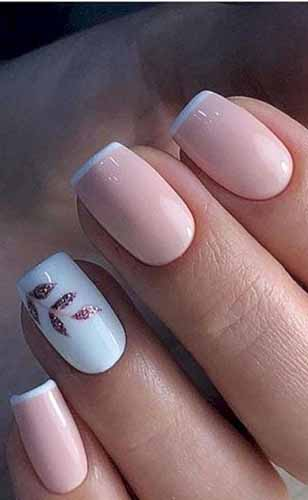 7 Lovely and Cute Valentine's Day Coffin Nails Designs