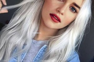 7 Platinum Hair Colors that Suits on the Blondes Perfectly Feel Free to Try
