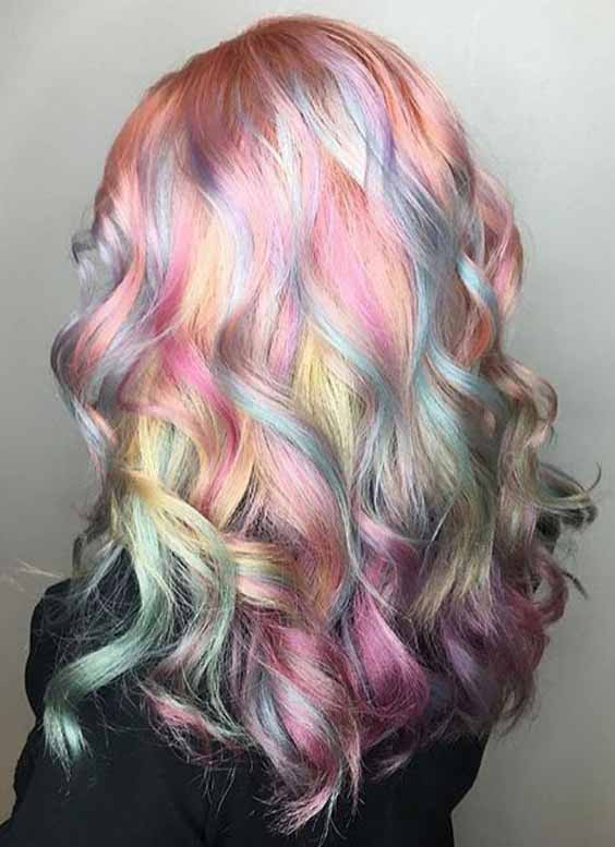 20 Hot And Exclusive Cotton Candy Hair Color For Your Colorful Life