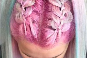 17 luscious Cotton Candy Hair Color Unicorns 2020