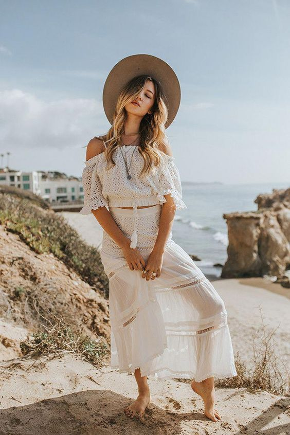 30 Very Comfortable Summer Beach Outfits Casual Street Styles To Enjoy The Vacation