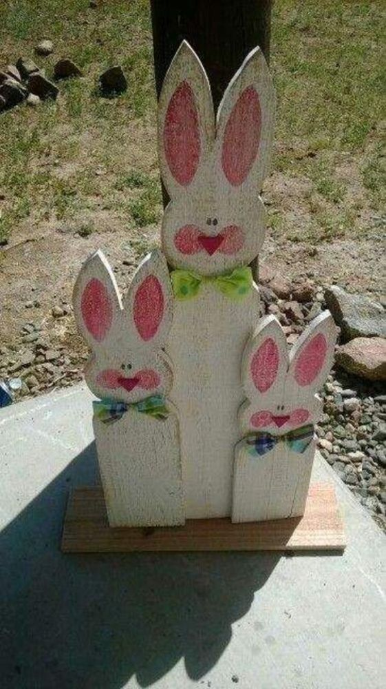 25 Easy And Impressive DIY Spring Wood Crafts Ideas For You