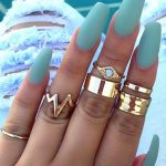 25 Most Needed Fall Acrylic Nails Coffin Invented For You 2021