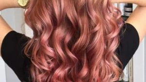 25 lovely Rose Gold Hair Color for you