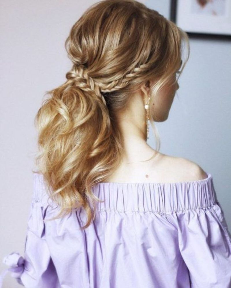 30 Easy Braided Prom Hairstyles : Best Comfortable Braided ...