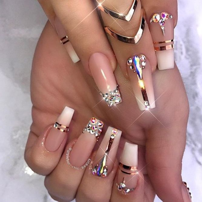 30 Unique And Special Coffin Long Nail Art For You 2021