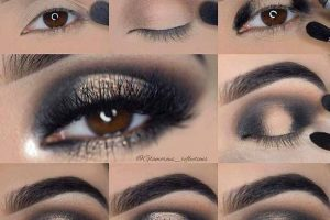Create Your Red-Hot Smokey Eye Step by Step