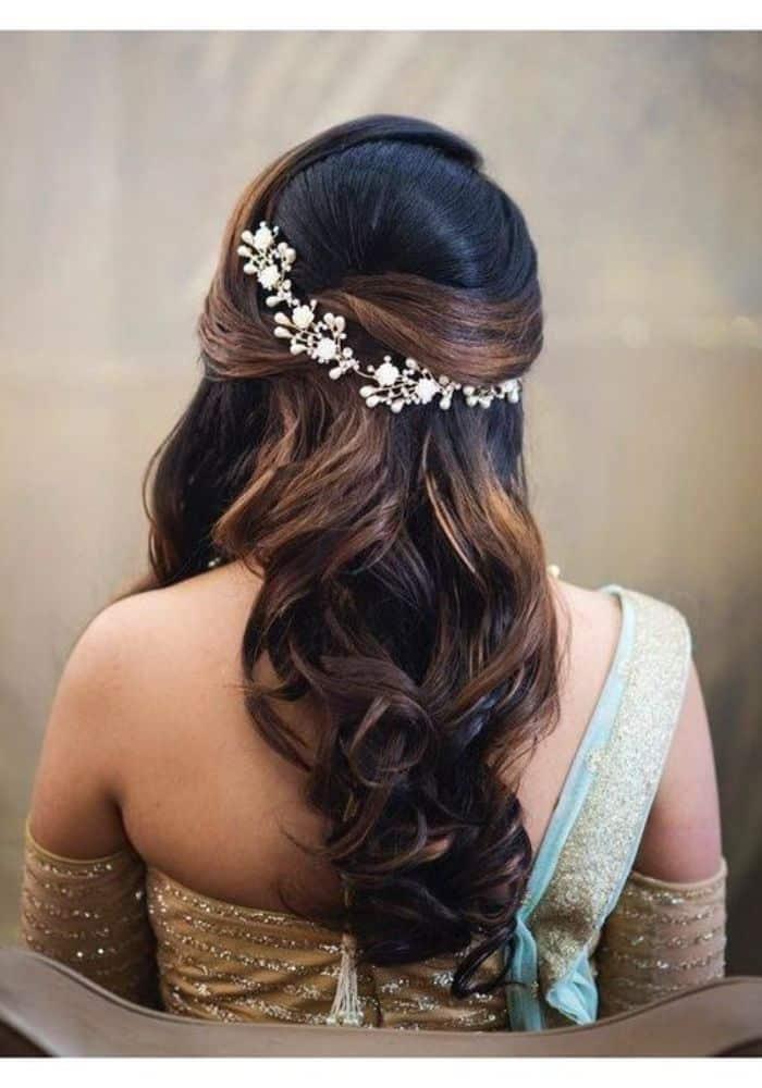 braids indian wedding hairstyles for long hair
