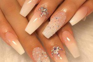 Stunning Sparkle Summer Nail Art